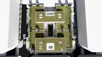 cubierta vegetal-dooko-edificio purpura-vivienda nueva en villena