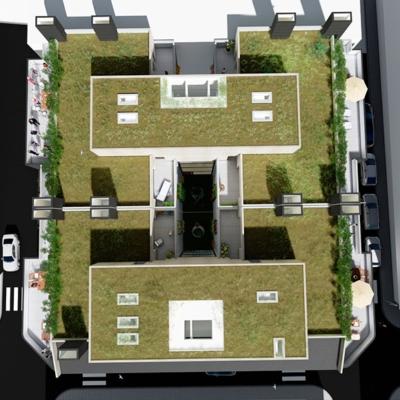 cubierta vegetal-dooko-Villena-vivienda nueva-personalización