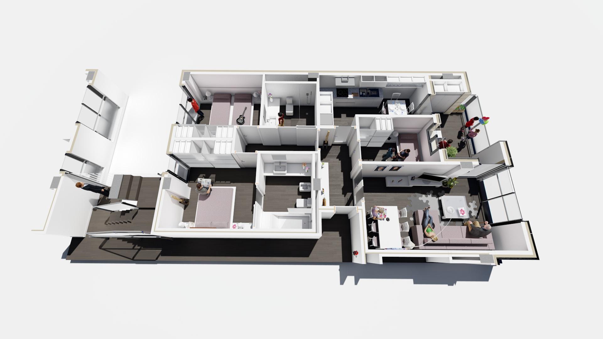Mini Atico-dooko-edificio purpura-Villena-Hogar Singular