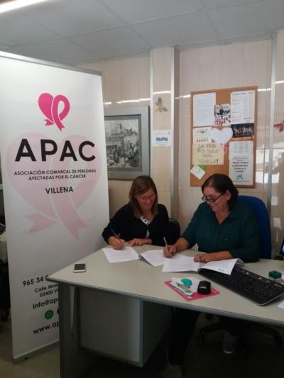 Solidaridad con APAC-Firma APAC-dooko-vivienda nueva en Villena-Villena- tu hogar singular-personalizacion