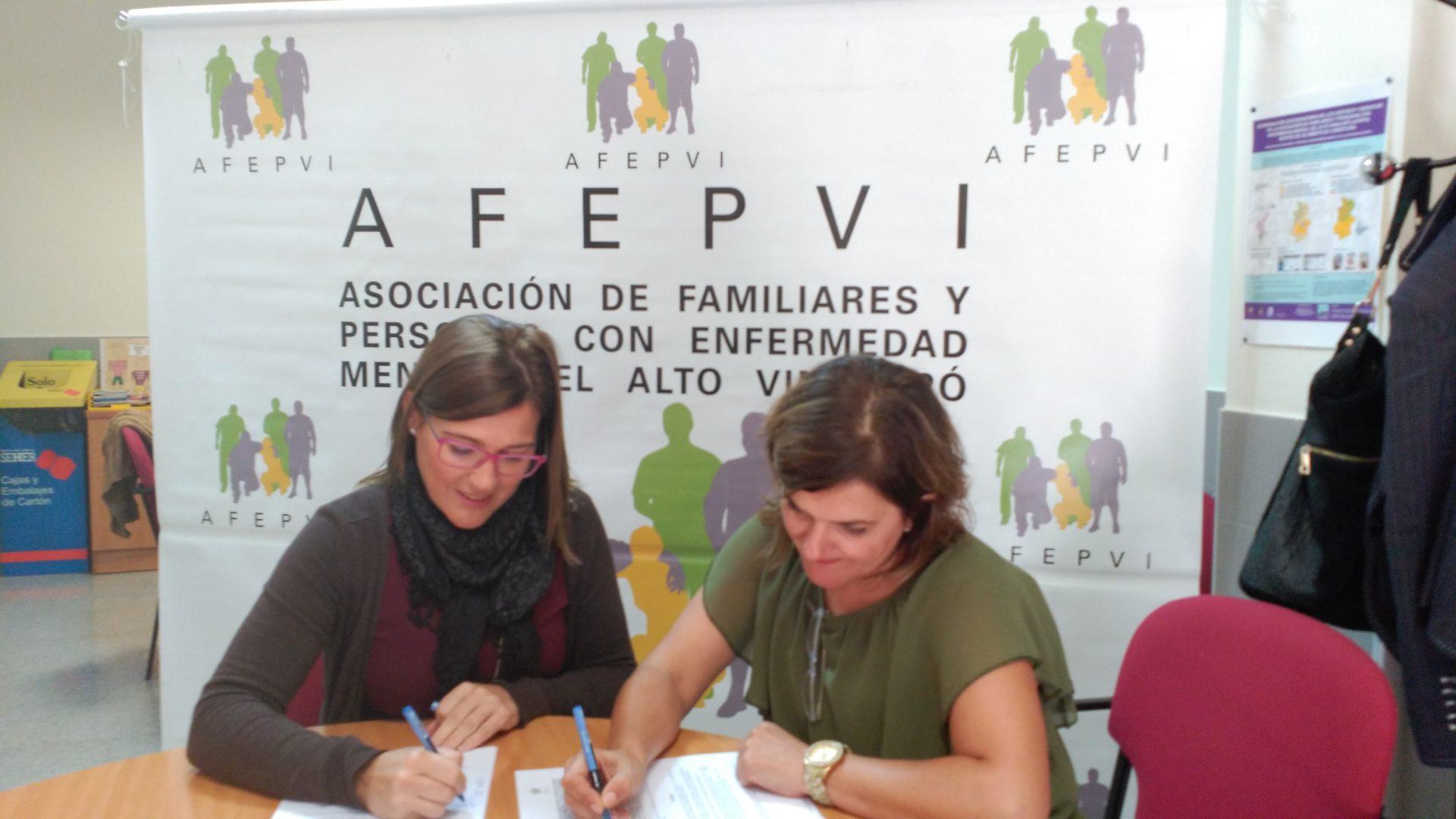 Solidaridad-dooko-Firma contrato-Afepvi-Villena-vivienda nueva-edificio purpura