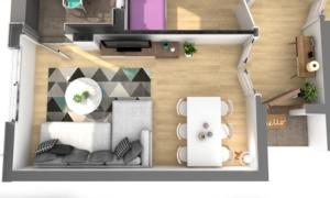 Render2-EA Interiorismo-dooko-edificio purpura-tu hogar singular-vivienda nueva en villena