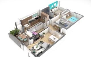 Render6-EA Interiorismo-dooko-edificio purpura-tu hogar singular-vivienda nueva en villena