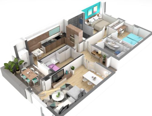 EA Interiorismo: Propuestas para el Edificio Púrpura