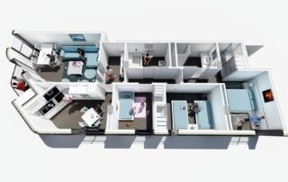 corner home-dooko-edificio purpura-villena-vivienda nueva-personalizacion-tu hogar singular