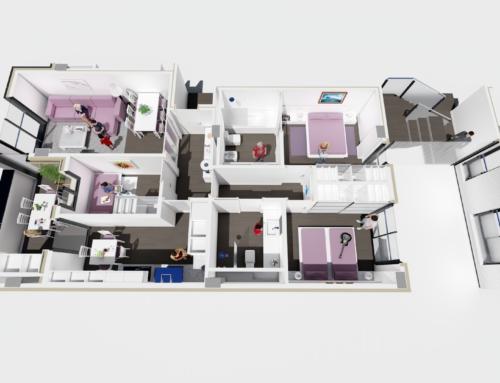 Conociendo el 3ºA Edificio Púrpura